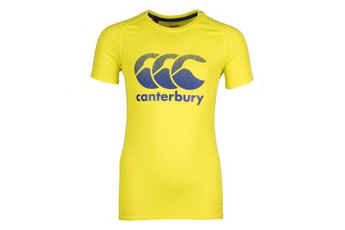 Vapodri Youth Poly Large Logo Training T-Shirt