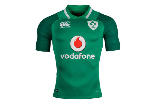 Ireland IRFU 2017/18 Home Players Test S/S Rugby Shirt