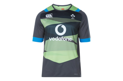 Ireland IRFU 2017/18 Kids Pro S/S Rugby Training Shirt