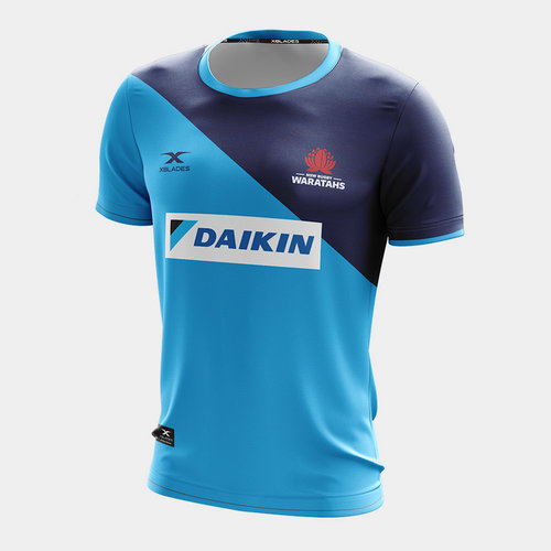 NSW Waratahs 2020 Players S/S Super Rugby Training T-Shirt