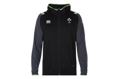 Ireland IRFU 2017/18 Kids Full Zip Hooded Rugby Sweat