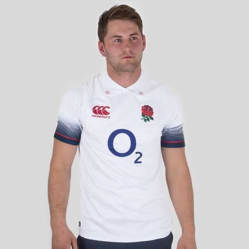 England 2017/18 Home Pro S/S Rugby Shirt