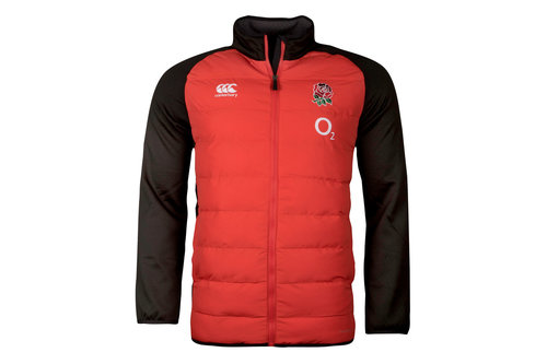 England 2017/18 Players Hybrid Rugby Jacket