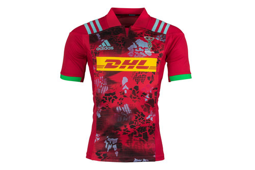 Harlequins 2017/18 Alternate S/S Replica Rugby Shirt