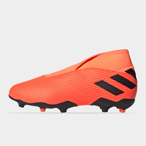 Nemeziz 19.3 Childrens Laceless FG Football Boots