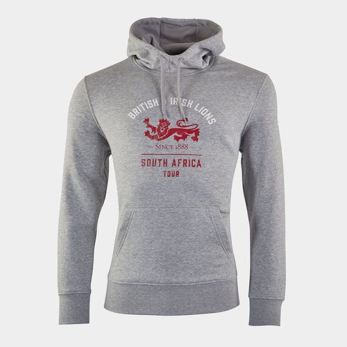 British and Irish Lions Graphic Hoodie Mens