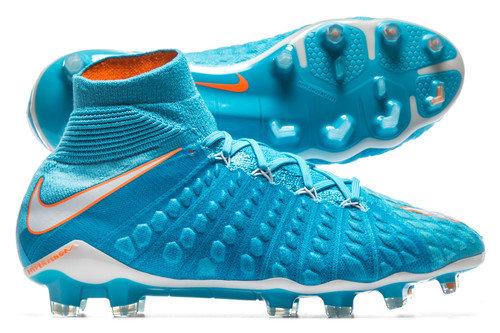 Hypervenom Phantom III FG D-Fit Womens Football Boots