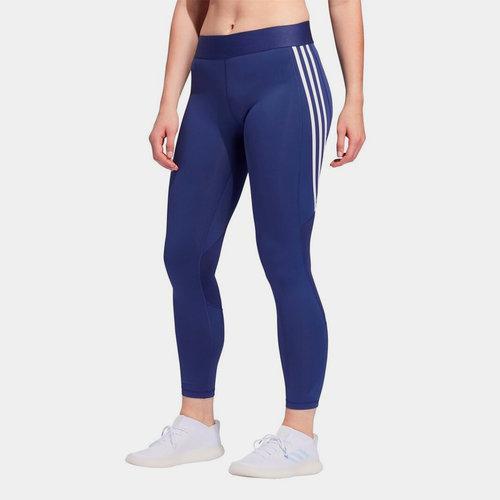 Womens Alphaskin 3 Stripes Leggings