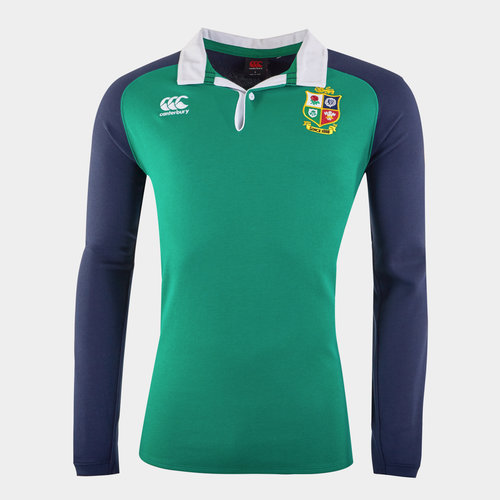 British and Irish Lions Long Sleeve Rugby Shirt Mens