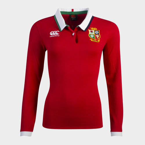 British and Irish Lions Long Sleeve Classic Shirt 2021 Ladies