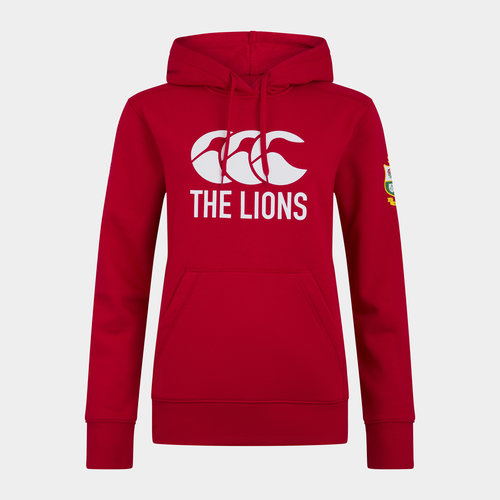 British and Irish Lions Logo Hoodie Ladies