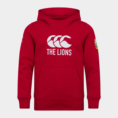 British and Irish Lions Logo Hoodie Junior Boys