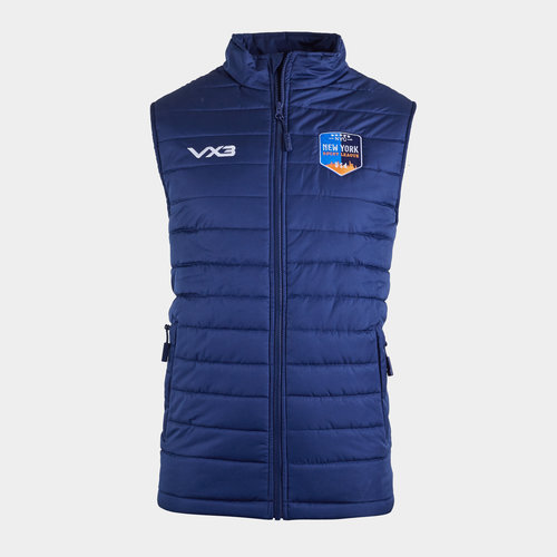 New York Rugby League Quilted Gilet