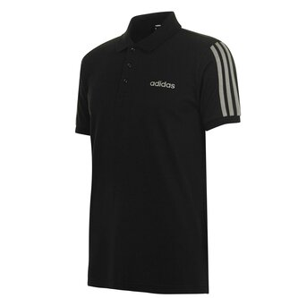 3 Stripes Logo Polo Shirt Mens