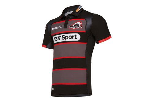 Edinburgh 2017/18 Players Home Test Rugby Shirt