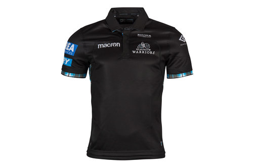 Glasgow Warriors 2017/18 Home S/S Replica Rugby Shirt