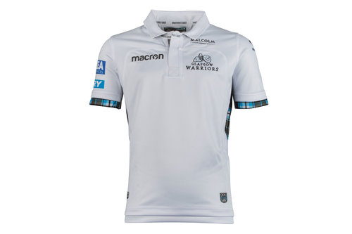 Glasgow Warriors 2017/18 Kids Alternate S/S Replica Rugby Shirt