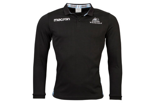 Glasgow Warriors 2017/18 Home Cotton L/S Classic Rugby Shirt