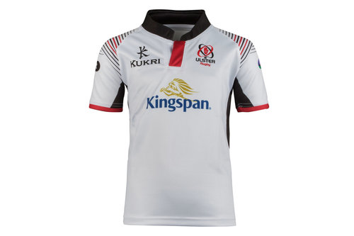 Ulster 2017/19 Kids Home S/S Replica Rugby Shirt