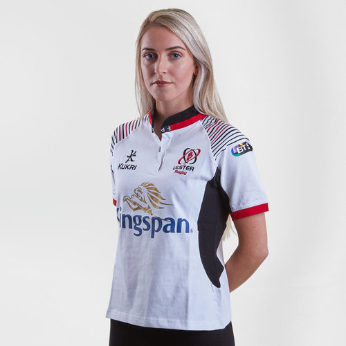Ulster 2017/19 Ladies Home S/S Cotton Replica Rugby Shirt