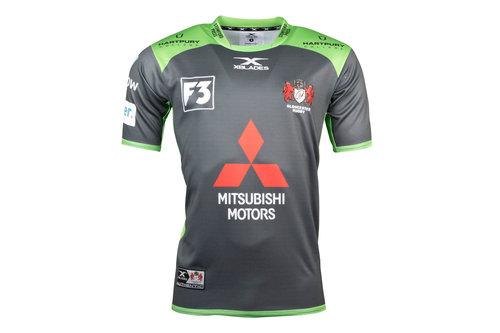 Gloucester 2017/18 Alternate S/S Replica Rugby Shirt