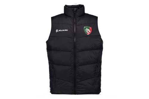 Leicester Tigers 2017/18 Players Quilted Rugby Gilet