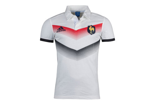 France 2017/18 Alternate Supporters S/S Rugby Shirt