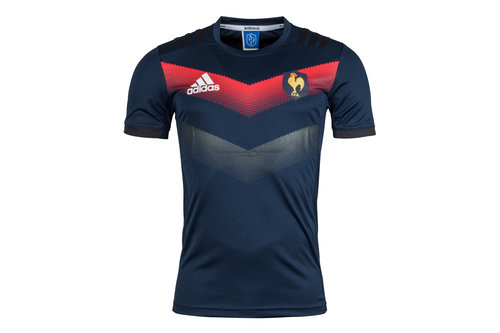 France 2017/18 Performance Rugby Training T-Shirt