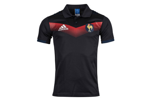 France 2017/18 Presentation Rugby Polo Shirt