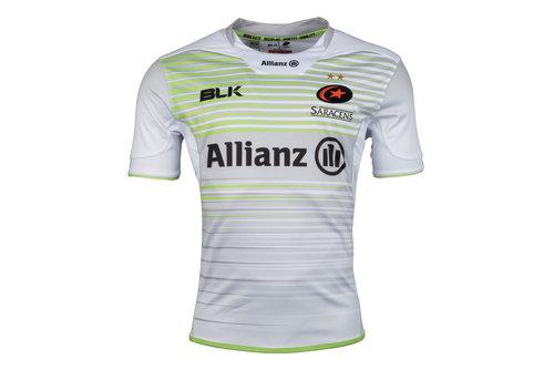 Saracens 2017/18 Alternate S/S Replica Rugby Shirt