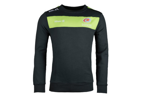 Saracens 2017/18 Coaches Rugby Training Sweatshirt