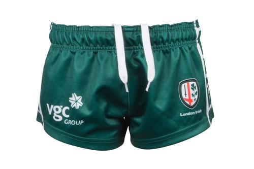 London Irish 2017/18 Kids Home Rugby Shorts