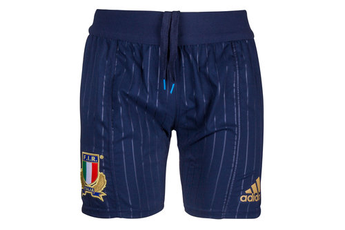 Italy Home Players Rugby Shorts