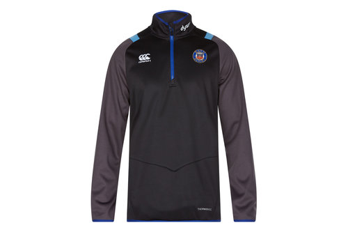 Bath 2017/18 Players 1/4 Zip Rugby Training Top