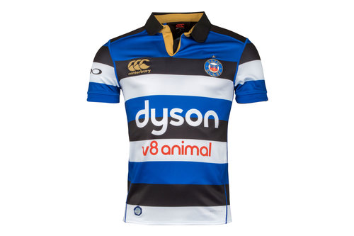 Bath 2017/18 Home S/S Pro Rugby Shirt