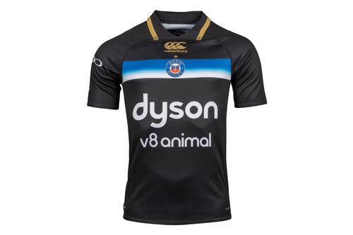Bath 2017/18 European/3rd S/S Pro Rugby Shirt