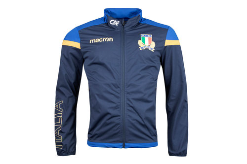 Italy 2017/18 Players Anthem Rugby Jacket