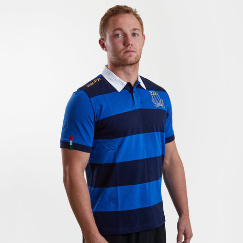 Italy 2017/19 Supporters Cotton S/S Rugby Shirt