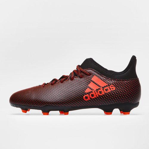 X 17.3 FG Kids Football Boots
