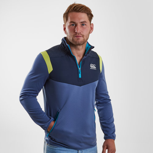 Thermoreg Spacer 1/4 Zip Fleece Run Training Top
