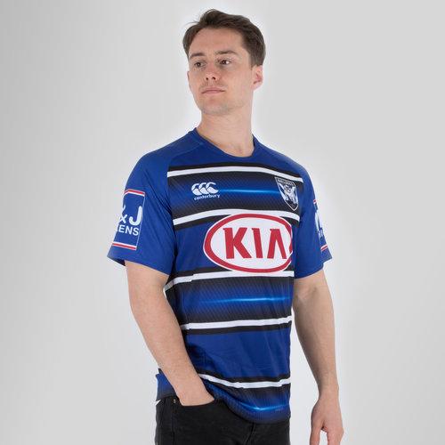 Canterbury Bulldogs NRL 2018 Players Rugby Training T-Shirt