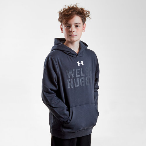 Wales WRU 2017/19 Kids Graphic Hooded Rugby Sweat