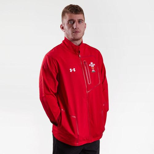 Wales WRU 2018/19 Players Rugby Presentation Jacket