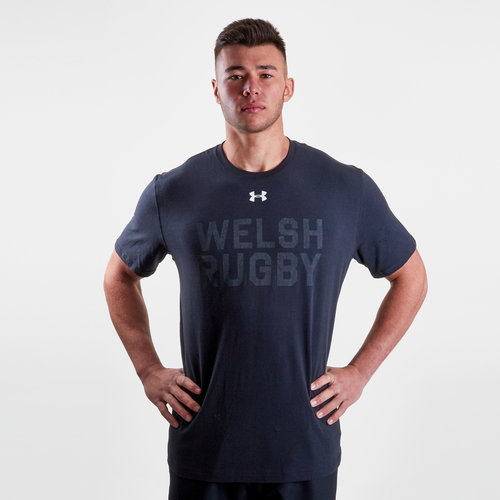 Wales WRU 2017/19 Graphic Rugby T-Shirt