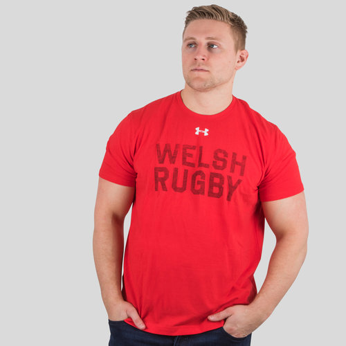 Wales WRU 2018/19 Graphic Rugby T-Shirt