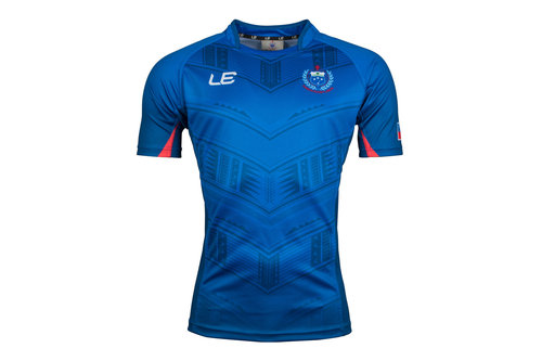 Samoa 2017 Home S/S Replica Rugby Shirt
