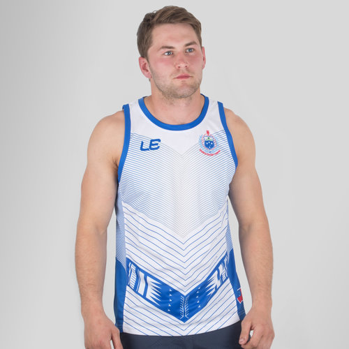 Samoa 2017 Players Rugby Training Singlet
