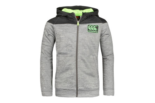 Vaposhield Fleece Youth Full Zip Hooded Rugby Sweat