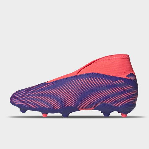 Nemeziz .3 Laceless Childrens FG Football Boots