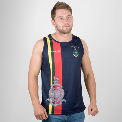 Royal Marines 2017/18 Rugby Training Singlet